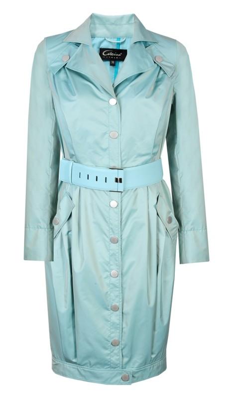 miętowy kolor, płaszcz Caterina 1 390 zł