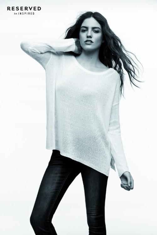 Kolekcja jeansowa reserved 2013