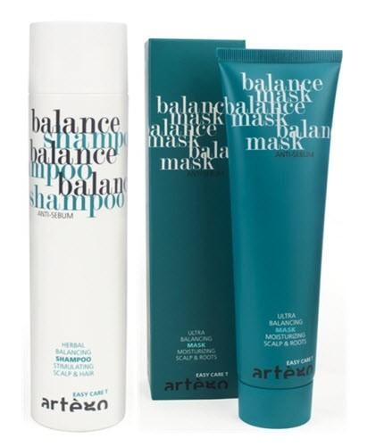 Artègo Balance - zabieg do włosów przetłuszczających się, szampon: 34,90 zł/ 250 ml, maska: 39, 90 zł/ 150 ml