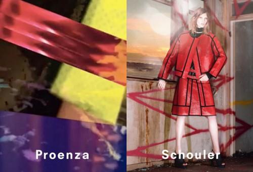Kurtka Proenza Schouler, Kurtki i płaszcze - wiosna/lato 2013