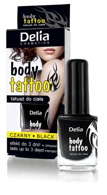 Body Tattoo, Delia Cosmetics, 13 zł/ 11 ml