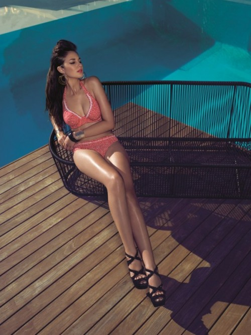 Model Calamity, Kostiumy kąpielowe Freya - lato 2013