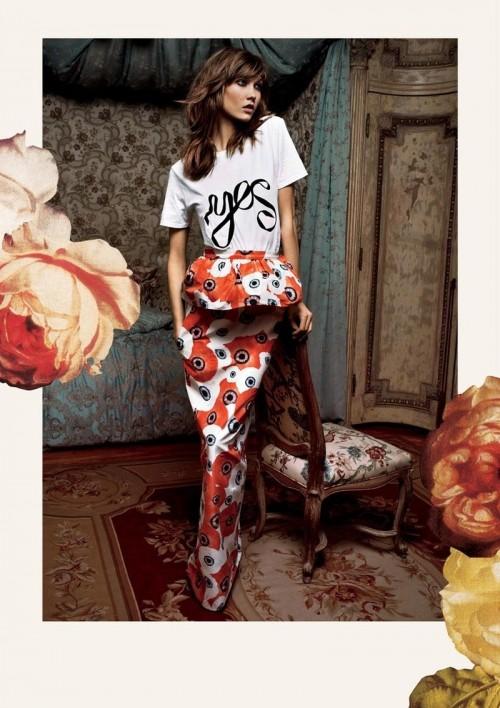 Karlie Kloss w kampanii Moda Operandi - wiosna/lato 2013