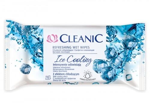 Chusteczki odświeżające Ice Cooling Cleanic
