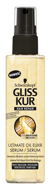 Serum do włosów Gliss Kur Ultimate Elixir, cena: 30 zł/ 100 ml