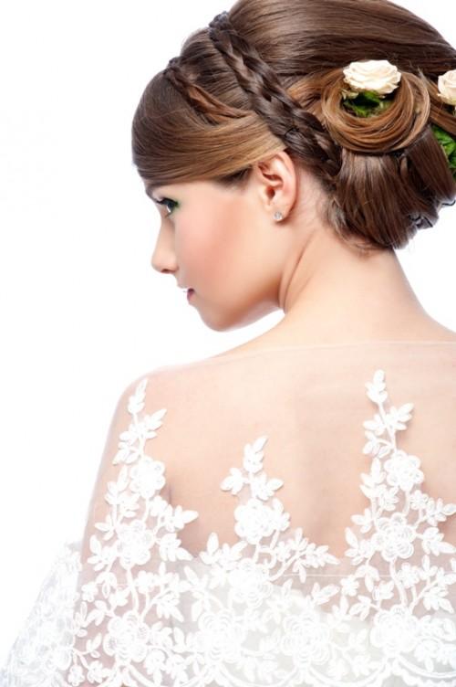 fryzura ślubna, panna młoda, upięcie ślubne, fryzjer, ślub