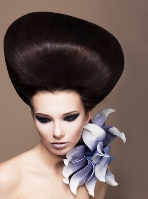 fryzura ślubna, panna młoda, upięcie ślubne, fryzjer, ślub, kok