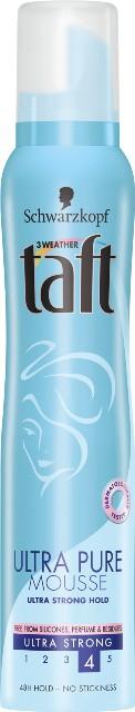Pianka do włosów Ultra Pure, Taft, ok. 14 zł/ 200 ml