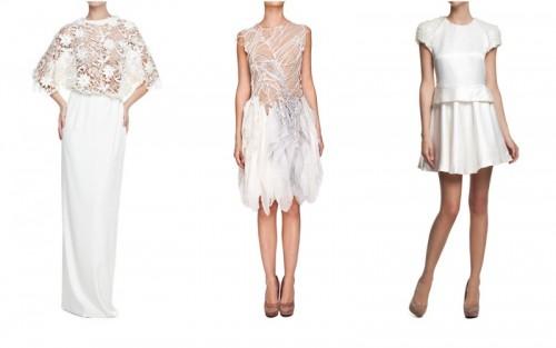 Białe sukienki eleganckie