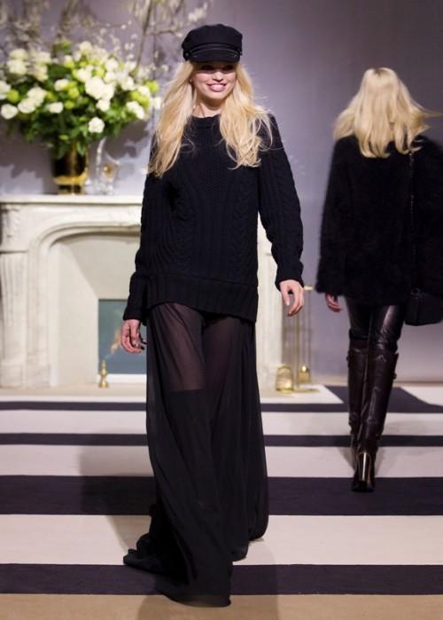 H&M - kolekcja na jesień 2013, pokaz na Paris Fashion Show