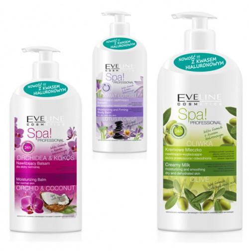 Balsamy Spa! Professional, Eveline Cosmetics, cena:  ok. 13 zł / 350 ml