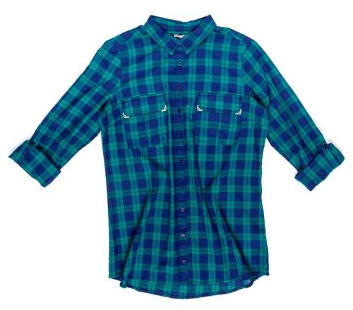 moda damska, jesień-zima 2013/2014, must-have, koszula, kratka, Sinsay, 59,99 zł