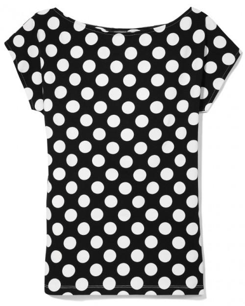 moda damska, jesień-zima 2013/2014, must-have, bluzka, grochy, Mohito, 59,99 zł