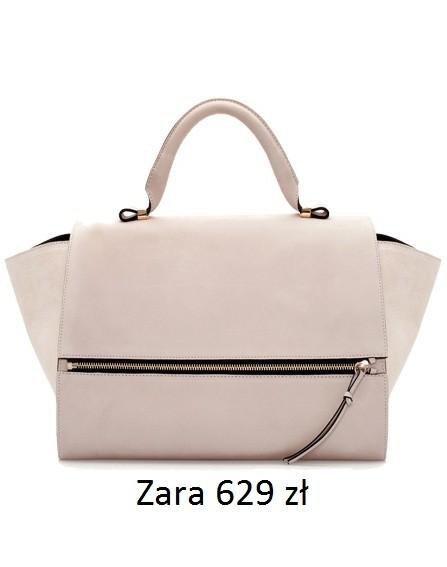 Torba w rozmiarze XL, Zara, 629 zł