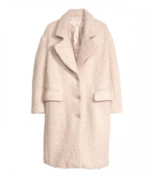 Wełniany płaszcz H&M, 499 zł
