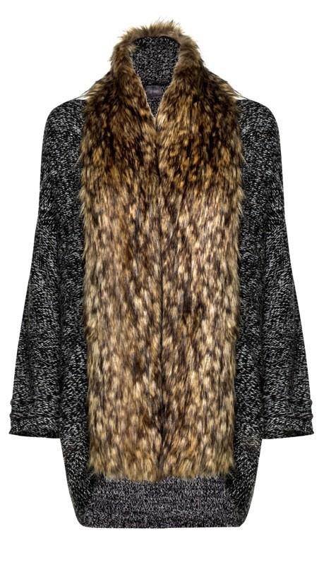 Płaszcz z łączonych materiałów Van Graaf, 689.95 zł
