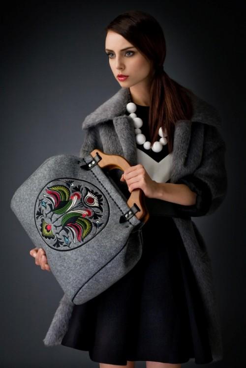 Kolekcja torebek Goshico na zimę 2013/2014 - lookbook