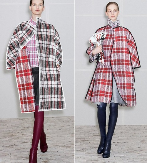 Płaszcze z kolekcji Céline - zima 2013/2014