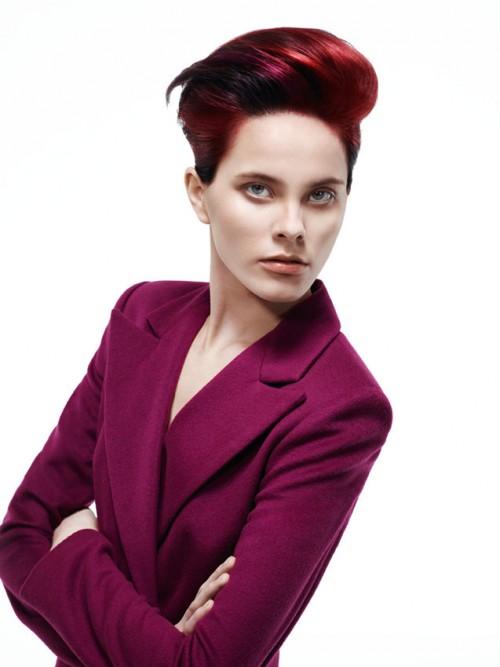 Kolekcja Essential Looks 2.2013 Schwarzkopf Professional – COLOUR BURST – trend SUITGIRLS