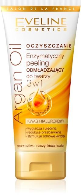 Enzymatyczny peeling odmładzający do twarzy 3 w 1, Eveline Cosmetics, cena: 8,99 zł/ 60 ml