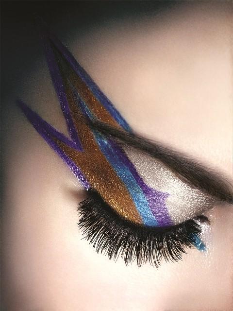 makijaż, nietypowy makijaż