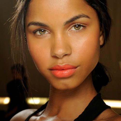 Makijaże z tygodnia mody w Nowym Yorku - wiosna-lato 2014 - trendy - Desigual
