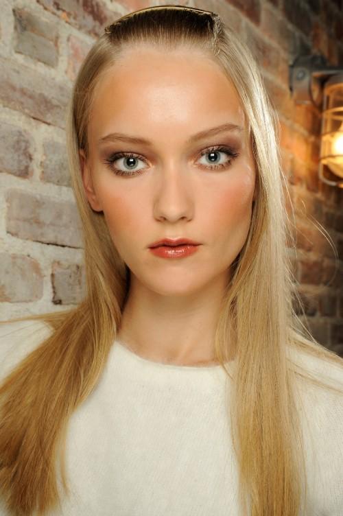 Makijaże z tygodnia mody w Nowym Yorku - wiosna-lato 2014 - trendy - Donna Karan