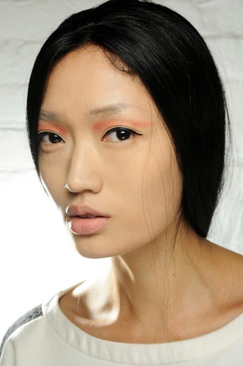 Makijaże z tygodnia mody w Nowym Yorku - wiosna-lato 2014 - trendy - Lapointe