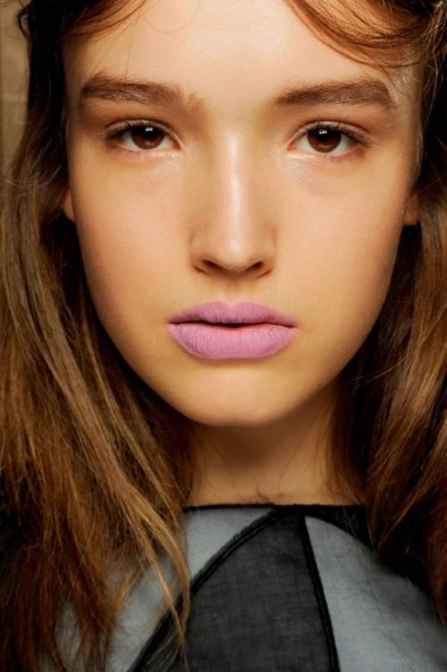 Makijaże trendy wiosna-lato 2014 - pokaz Peter Pilotto