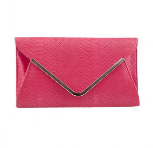 Różowa kopertówka, CCC, cena: 69, 99 zł