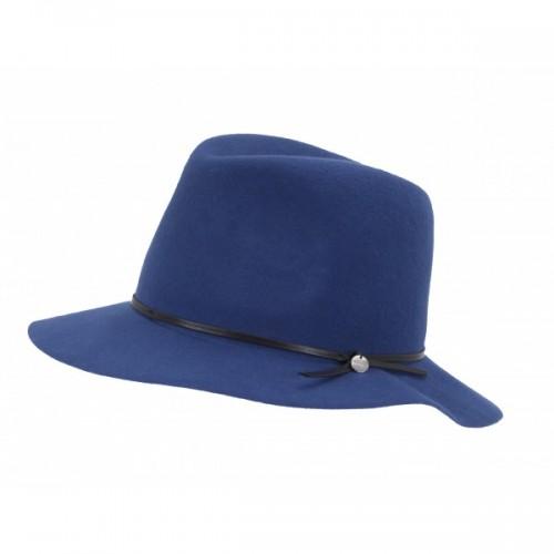 Chabrowy kapelusz z czarną tasiemką będzie idealny na wiosenne spacery, Esprit, cena: 129 zł