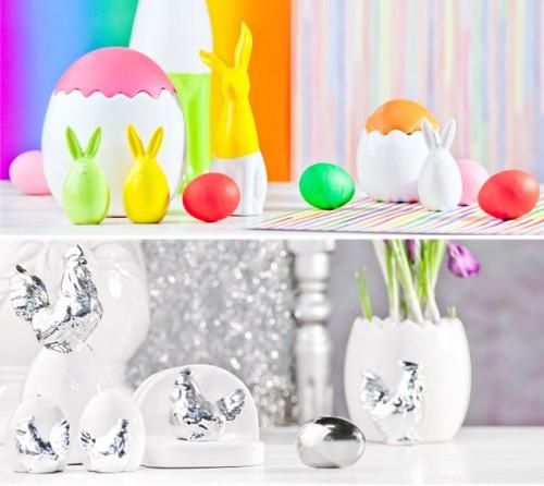 Wielkanocne dekoracje nowoczesnych wnętrz