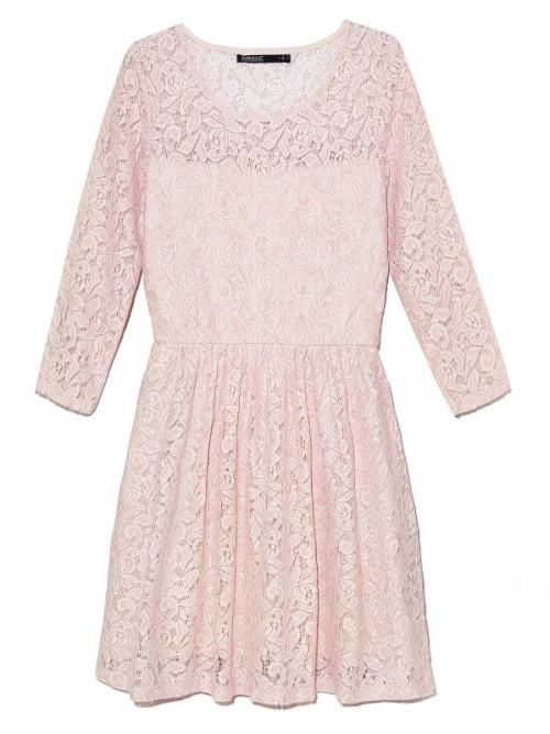 pastelowa, grzeczna sukienka, House, cena: 89,99 zł