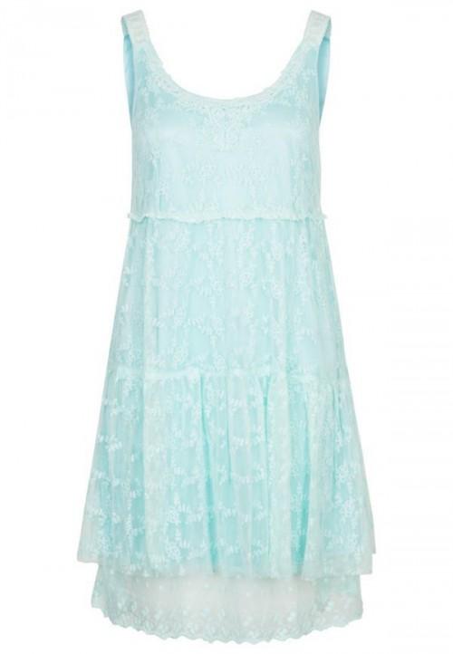pastelowa, grzeczna sukienka, Molly Bracken, Zalando.pl, cena: 179 zł