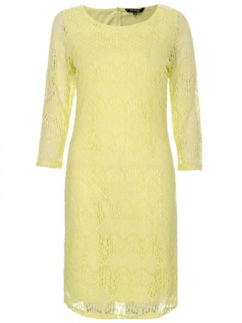 pastelowa, grzeczna sukienka, Top Secret, cena: 89,99 zł