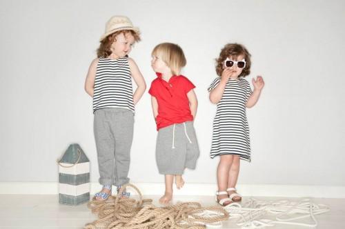 Marynarska kolekcja marki Flawless lato 2014