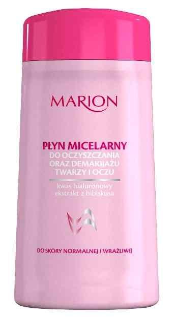 Płyn micelarny wzbogacony substancjami łagodzącymi i nawilżającymi skórę, Marion Kosmetyki, cena: ok. 5,20 zł/120 ml