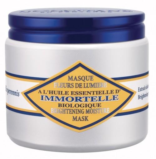 Maska rozjaśniająca, wspomaga redukcję zmarszczek, wyrównuje koloryt skóry oraz rozjaśnia cerę, zapewnia 30% redukcję powierzchniowych przebarwień skóry, L'Occitane, cena: 250 zł
