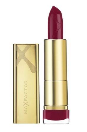 Czerwona szminka, kosmetyki, makijaż