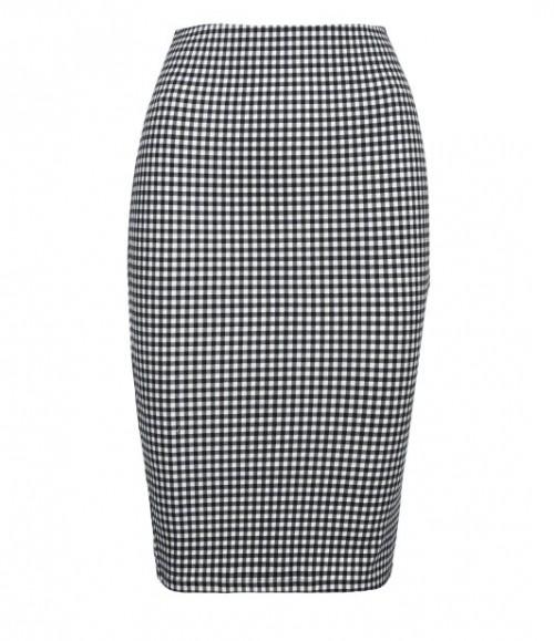 Spódnica w czarno-białą kratkę, Tally Weijl, cena: 59,90 zł