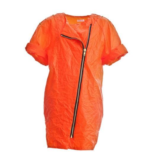 Oryginalna sukienka w kolorze pomarańczowym, pakamera.pl (Aga Guz), cena: 380 zł