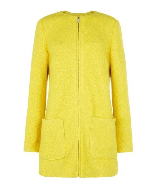 Żółty płaszcz, New Look, cena: 249,99 zł