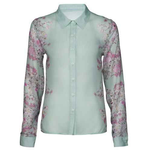 Pastelowa koszula z motywami kwiatowymi, New Yorker, cena: 69,95 zł
