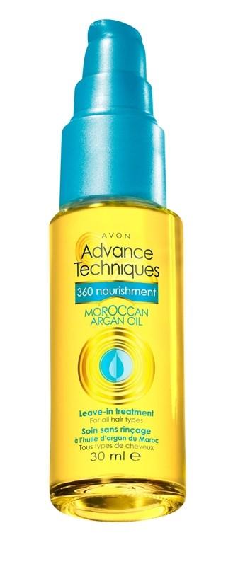 Odżywcza kuracja z olejkiem arganowym AVON przeznaczony do wszystkich rodzajów włosów, cena: 23 zł/30 ml
