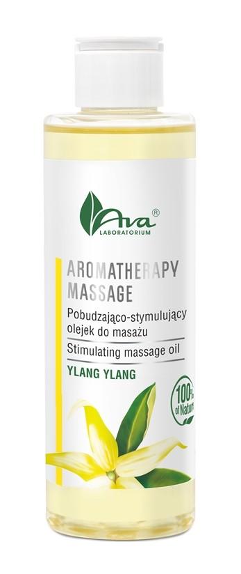 Pobudzająco-stymulujący olejek do masażu YLANG – YLANG, który odpręża ciało, pobudza zmysły, Laboratorium Kosmetyczne AVA, cena: 25,60 zł/200 ml