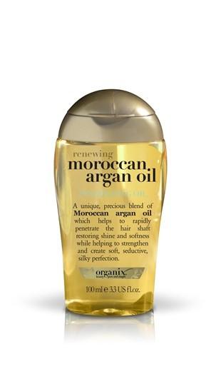 Marokański olejek arganowy, zapobiega puszeniu włosów, wzmacnia i zapewnia intensywne nawilżenie, Organix, cena: 29,99 zł/100 ml