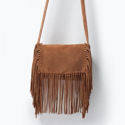 Torba z frędzlami, Zara, cena: 169 zł