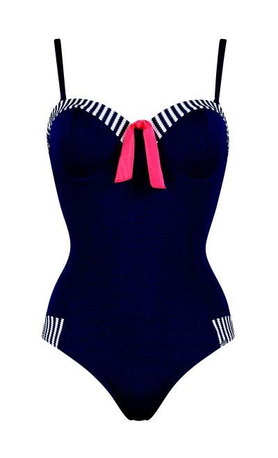 kostiumy kąpielowe w marynarskim stylu, Triumph, cena: 229 zł