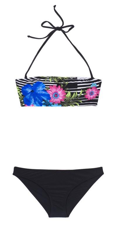 Kostiumy kąpielowe w egzotyczne wzory, Carry, cena: 59,99 zł