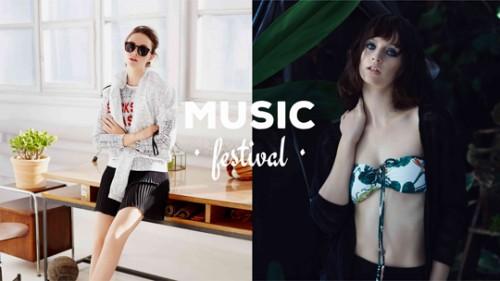 House, 2015, kolekcja music festival